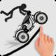 Game Stickman Racer Road Draw